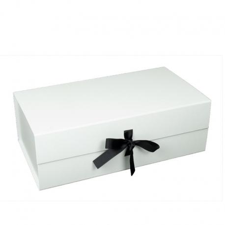 Boîte cadeau aimantée avec ruban