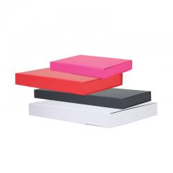 Boîtes carton Extra-plates Réutilisables Fermeture aimantée