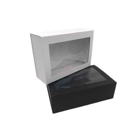 Boîte cadeau aimantée à fenêtre
