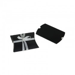 Boîte cadeau coussin noire