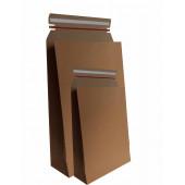 Pochettes cadeaux kraft adhésives avec bande d'arrachage