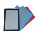 Enveloppes couleurs dos carton