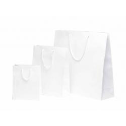 Sacs mats papier blanc