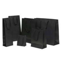 Sacs noirs papier teinté masse