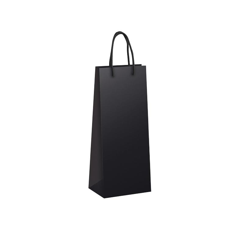 sac bouteille noir mat comptoir de l 39 emballage. Black Bedroom Furniture Sets. Home Design Ideas