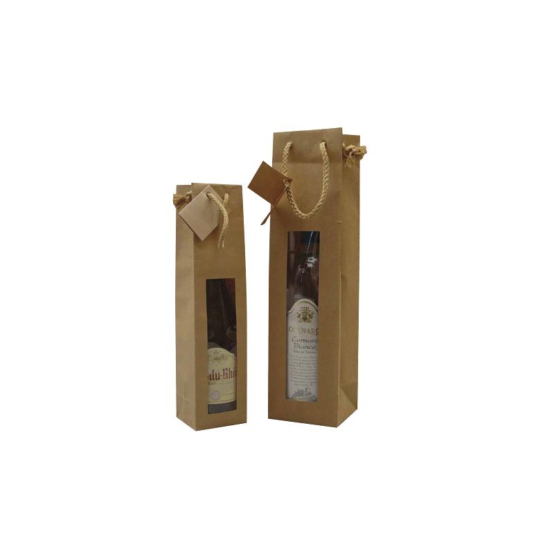 sac cadeau bouteille fen tre comptoir de l 39 emballage. Black Bedroom Furniture Sets. Home Design Ideas