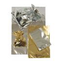 Pochettes métallisées brillantes