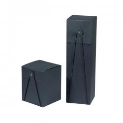 Boîtes cadeaux rondelle et élastique