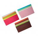 Les papiers de soie multicolores