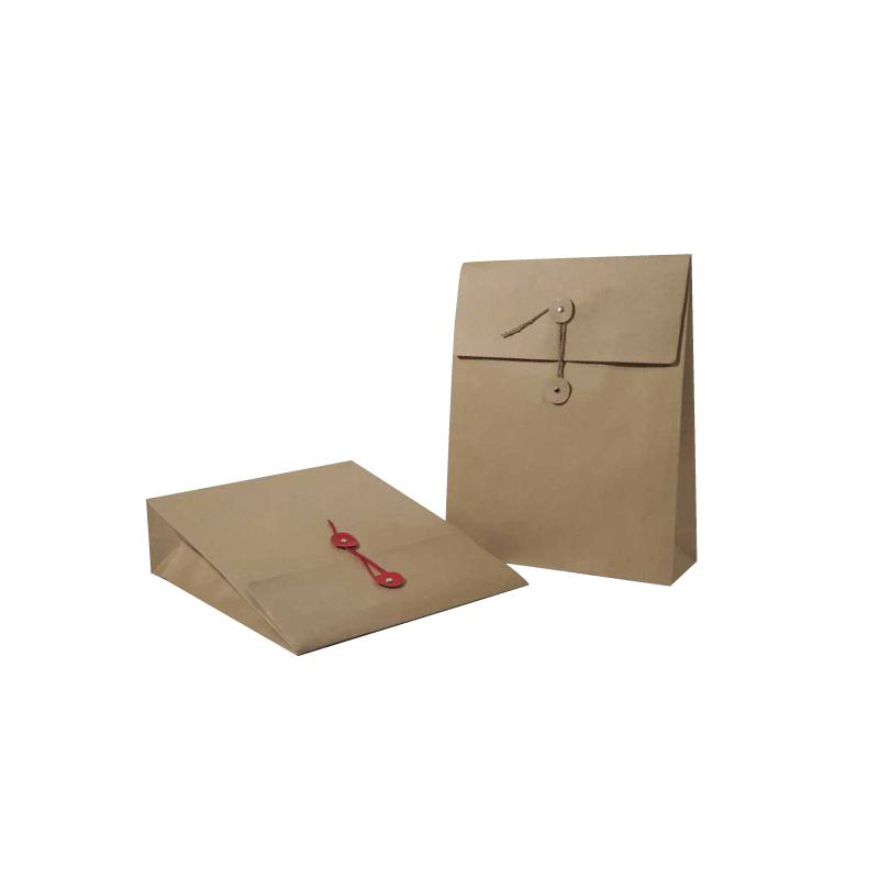 pochettes sacs en kraft brun avec des rondelles et une ficelle comptoir de l 39 emballage. Black Bedroom Furniture Sets. Home Design Ideas