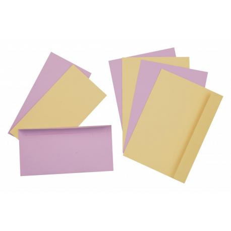 Enveloppes pastel
