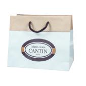 sac papier bicolore personnalisé
