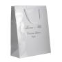 sac papier blanc personnalisé