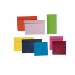 Enveloppes couleurs