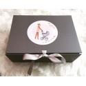 Etiquette personnalisée jolie bibi et son mini