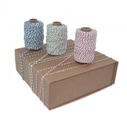 ficelle bicolore de coton