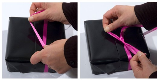 Comment faire un paquet cadeau comptoir emballage - Comment faire un papier cadeau ...