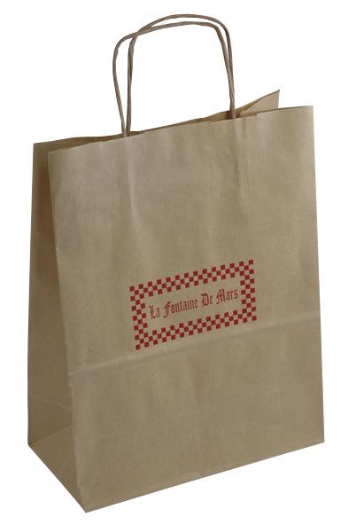 Le sac papier personnalisé à votre marque. Pourquoi? Pour qui? Comment?
