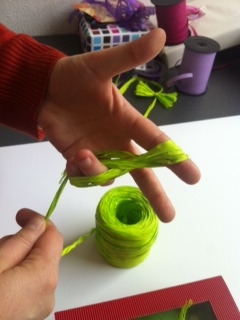 Comment r aliser des noeuds de p ques blog comptoir - Comment faire papier cadeau ...