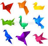 Le pliage de papier ou l'art de l'Origami