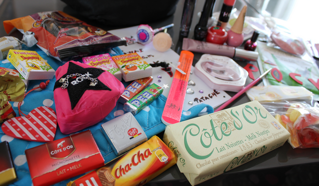 exemple swap cadeau bloggeuse surprise