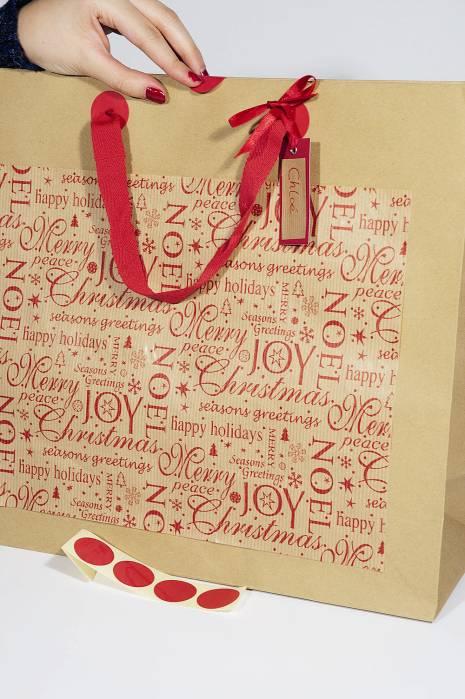 Diy Emballage Cadeau De Noel Comptoir De L 39 Emballage