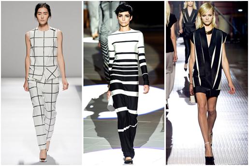 La tendance noir et blanc