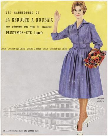 couverture la redoute 1960