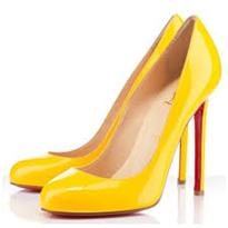 chaussure-jaune