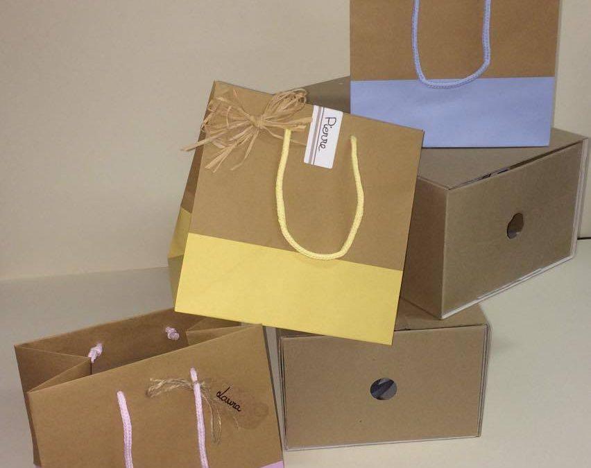 Le sac en papier: un paquet cadeau idéal !