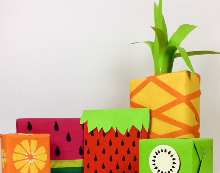 Des paquets cadeaux fruités !