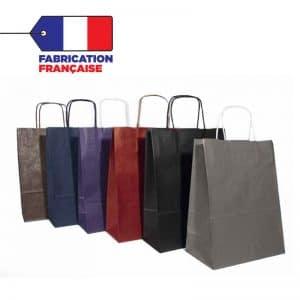 sac kraft couleurs