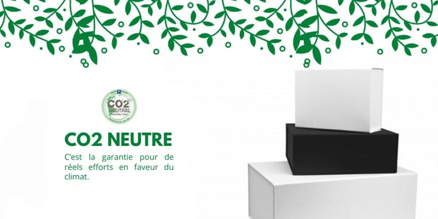 Une sélection d'emballages certifiés CO2 Neutre