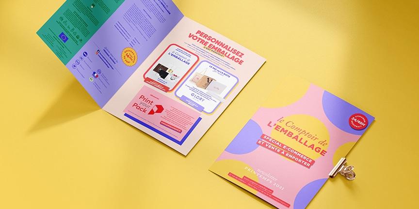 Le catalogue spécial e-commerce et vente à emporter