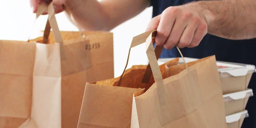 Quel emballage utiliser pour la vente à emporter et le click and collect ?